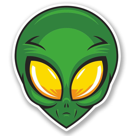 2 x Alien Vinyl Sticker #5663
