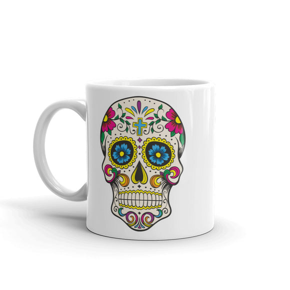 Sugar Skull High Quality 10oz Coffee Tea Mug #5667