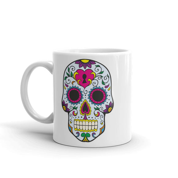 Sugar Skull High Quality 10oz Coffee Tea Mug #5668