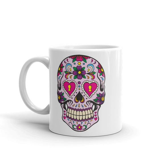 Sugar Skull High Quality 10oz Coffee Tea Mug #5669