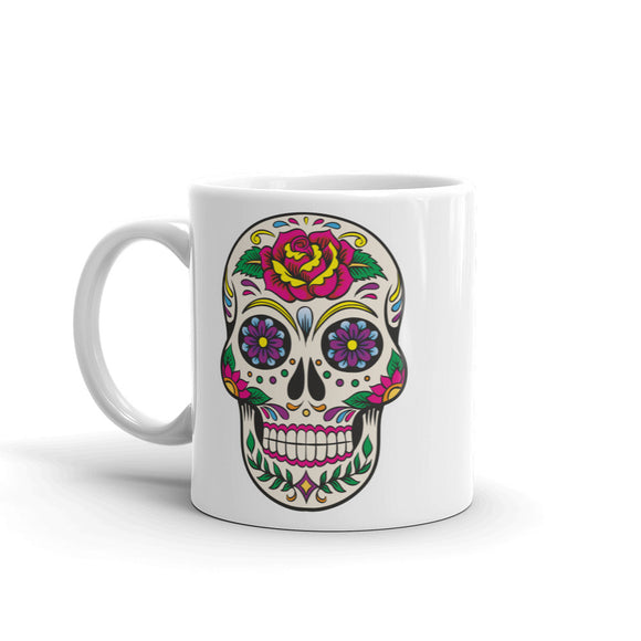 Sugar Skull High Quality 10oz Coffee Tea Mug #5670