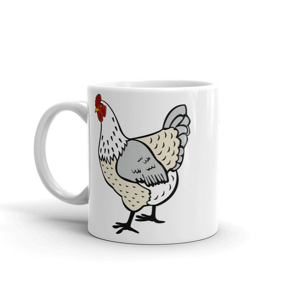 White Chicken High Quality 10oz Coffee Tea Mug #5877