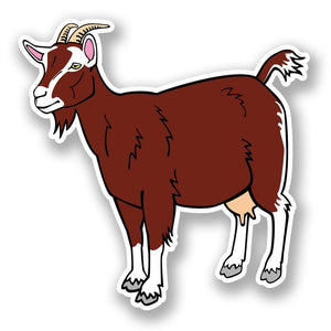 2 x Goat Vinyl Sticker #5879