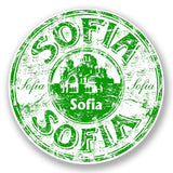 2 x Sofia Bulgaria Vinyl Sticker #5915