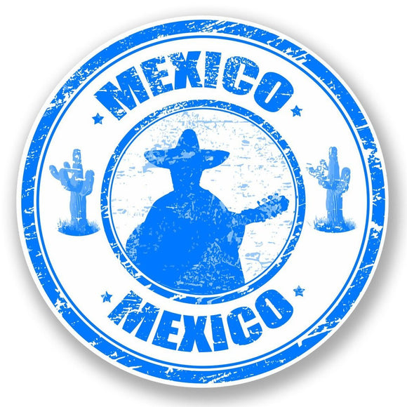 2 x Mexico Vinyl Sticker #5923