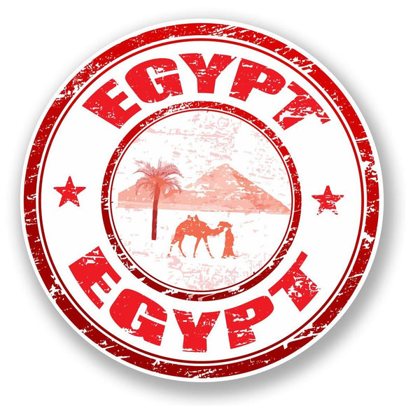 2 x Egypt Vinyl Sticker #5944