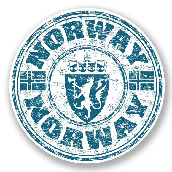 2 x Norway Vinyl Sticker #5949