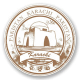 2 x Karachi Pakistan Vinyl Sticker #5951