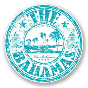 2 x The Bahamas Vinyl Sticker #5968