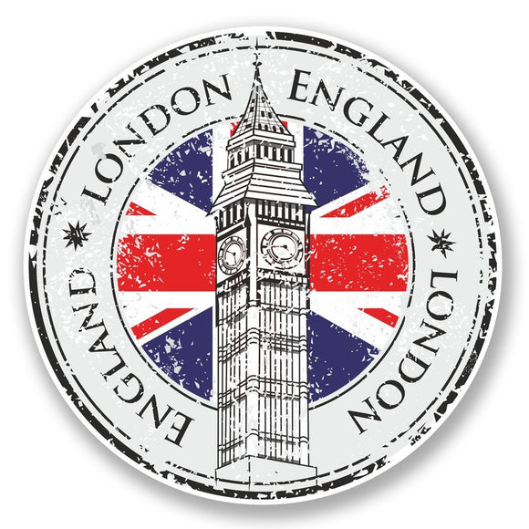 2 x London England UK Vinyl Sticker #5998