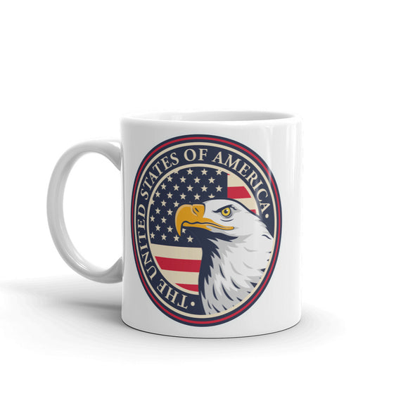 USA Eagle High Quality 10oz Coffee Tea Mug #6029