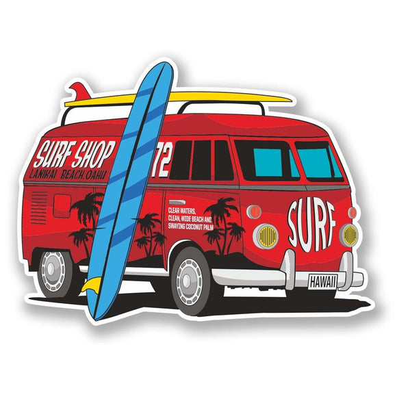 2 x Camper Vinyl Sticker #6092