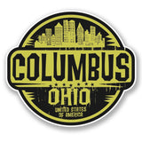 2 x Columbus Ohio USA Vinyl Sticker #6098