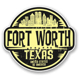 2 x Fort Worth Texas USA America Vinyl Sticker #6099
