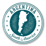 2 x Argentina South America Vinyl Sticker #6130