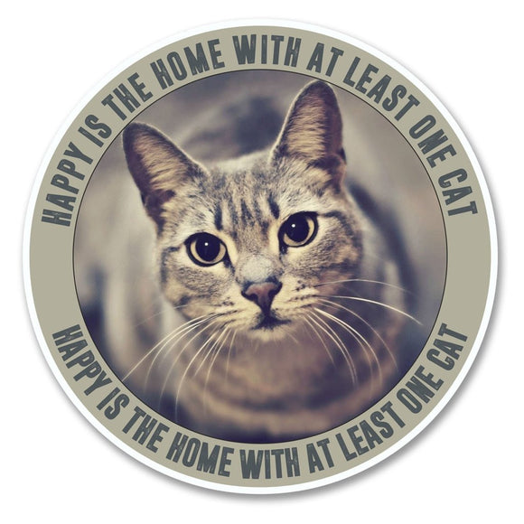 2 x Cat Lover Vinyl Sticker #6140
