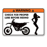 2 x Funny Warning Vinyl Sticker #6164