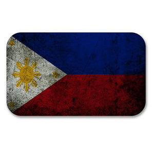 2 x Philippines Flag Vinyl Sticker #6188