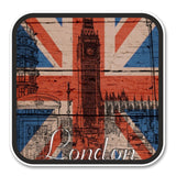 2 x London UK England Vinyl Sticker #6202