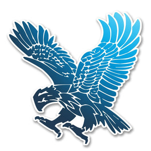 2 x Eagle Vinyl Sticker #6244