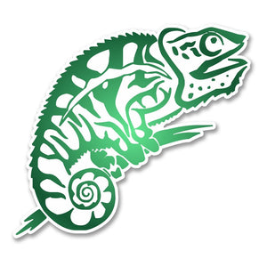 2 x Gekko Lizard Vinyl Sticker #6246