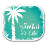 2 x Big Island Hawaii USA Vinyl Sticker #6317