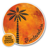 2 x Fuerteventura WINDOW CLING STICKER Car Van Campervan Glass #6318