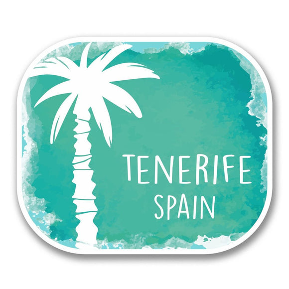 2 x Tenerife Greece Vinyl Sticker #6328
