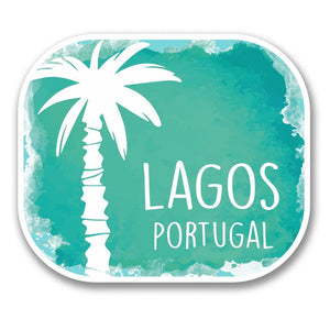 2 x Lagos Portugal Vinyl Sticker #6337
