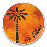 2 x La Palma Canaries Spain Vinyl Sticker #6345