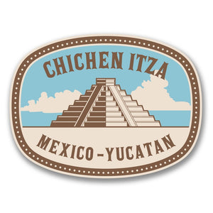 2 x Chichen Itza Mexico Yucatan Vinyl Sticker #6387