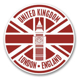 2 x London England Vinyl Sticker #6406