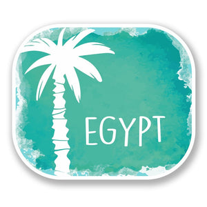 2 x Egypt Vinyl Sticker #6462