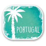 2 x Portugal Vinyl Sticker #6489
