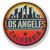 2 x Los Angeles California USA Vinyl Sticker #6496