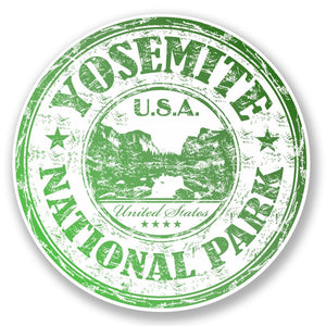 2 x Yosemite National Park USA Vinyl Sticker #6512