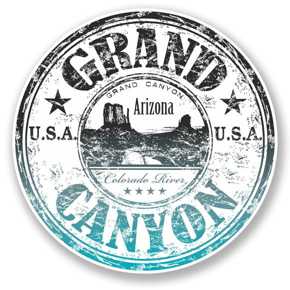 2 x Grand Canyon Arizona USA Vinyl Sticker #6518