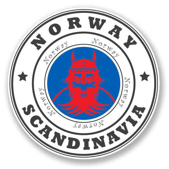 2 x Norway Vinyl Sticker #6773