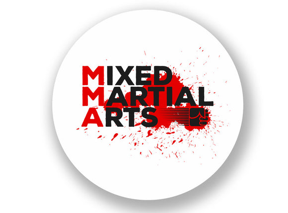 2 x MMA Mixed Martial Arts Vinyl Sticker #7035