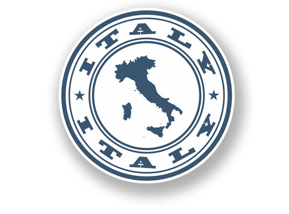 2 x Italy Vinyl Sticker Travel Luggage #7092