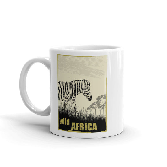 Wild Africa Zebra High Quality 10oz Coffee Tea Mug #7223