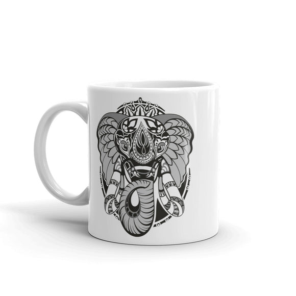 Tribal Elephant High Quality 10oz Coffee Tea Mug #7371