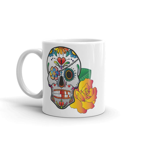 Sugar Skull Mexico Festival Day of the Dead High Quality 10oz Coffee Tea Mug #7383