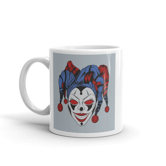 Scary Jester Halloween Scary Horror High Quality 10oz Coffee Tea Mug #7392