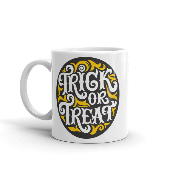 Trick or Treat Halloween High Quality 10oz Coffee Tea Mug #7420