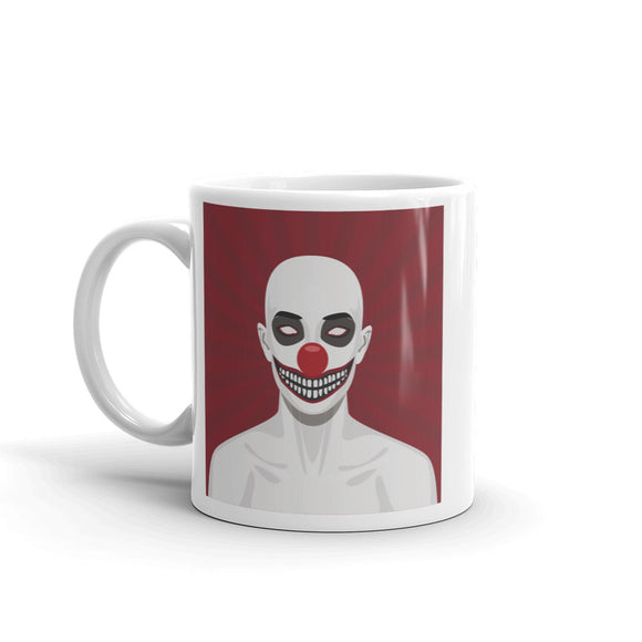 Scary Clown Halloween Scary High Quality 10oz Coffee Tea Mug #7423