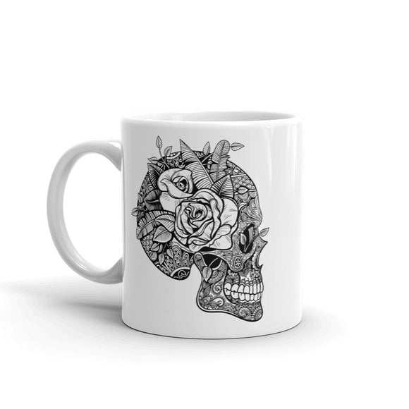 Sugar Skull Mexico Festival Day of the High Quality 10oz Coffee Tea Mug #7492