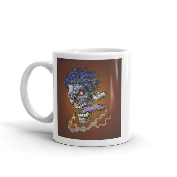 Zombie Head Horror High Quality 10oz Coffee Tea Mug #7497