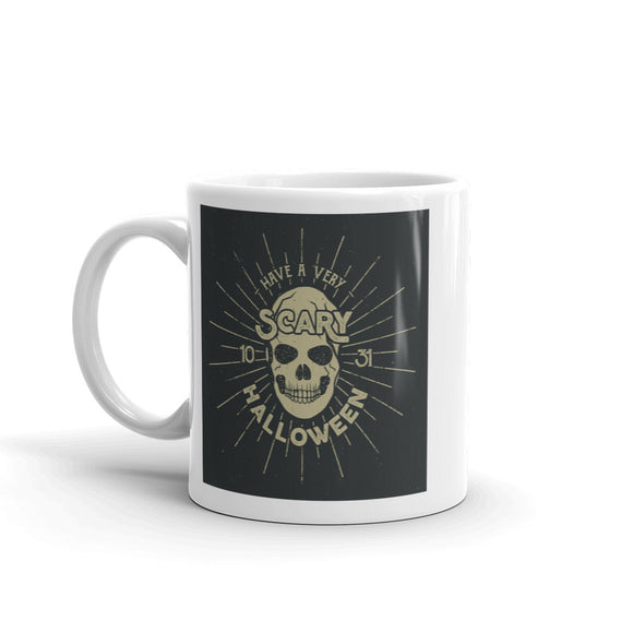 Skull Scary Horror Halloween High Quality 10oz Coffee Tea Mug #7511