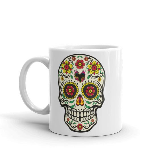Sugar Skull Scary Horror Halloween High Quality 10oz Coffee Tea Mug #7512